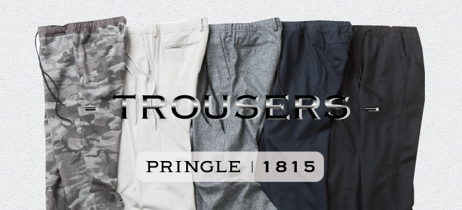 PRINGLE1815 MENS|TrousersSeries