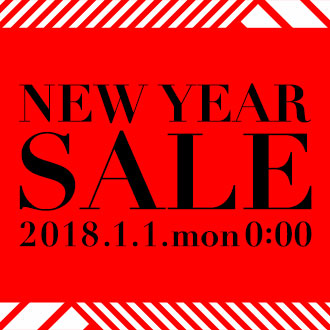 1/1(月)AM0:00~NEW YEAR SALE START!