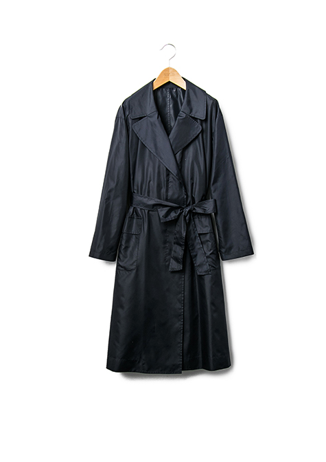 POCKETABLE TRENCH COAT